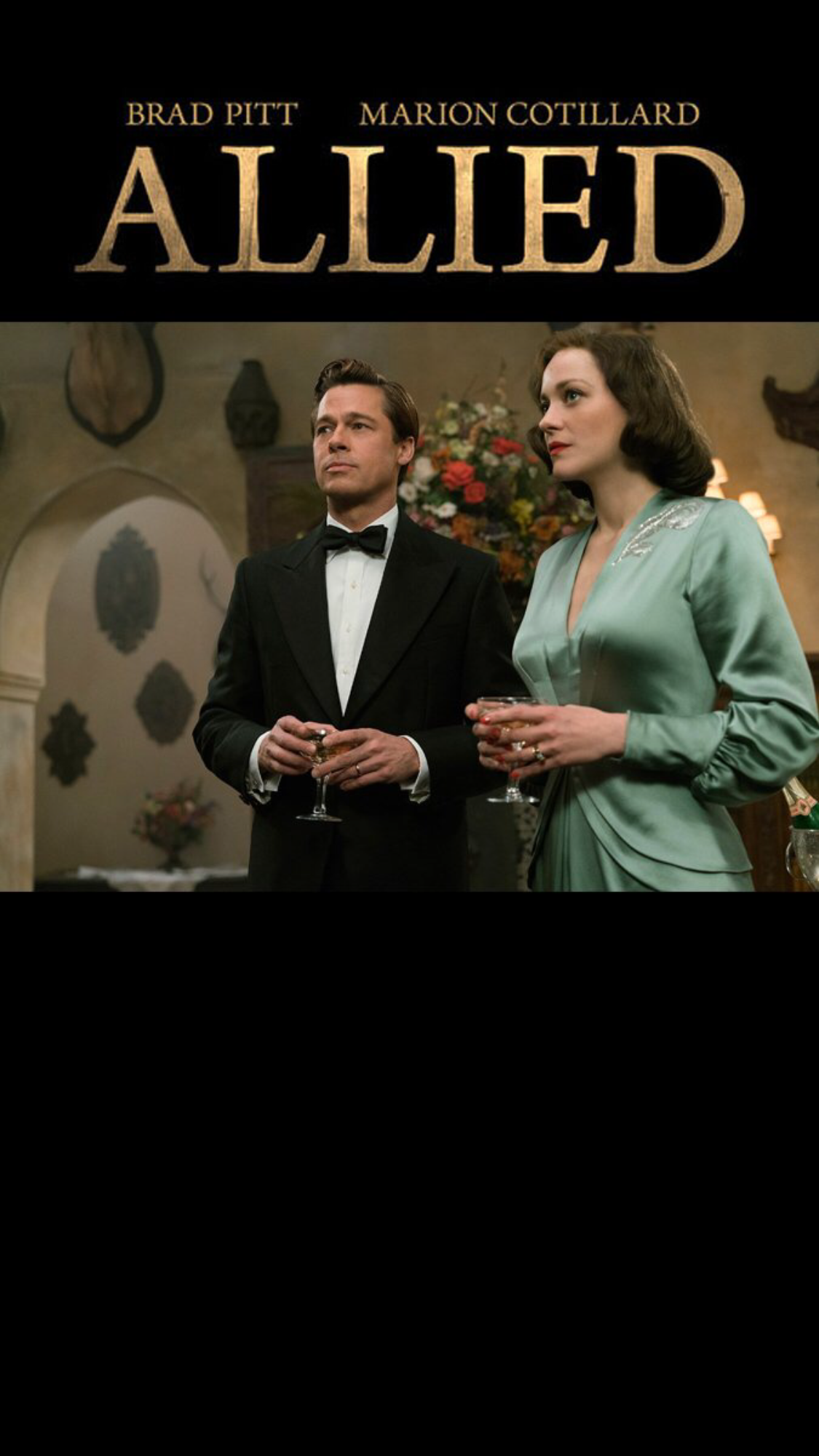 ตัวอย่าง Allied หนังใหม่ของ Brad Pitt