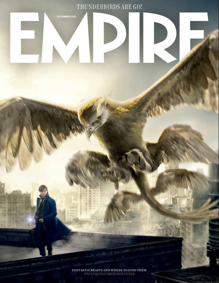 เอ็ดดี้ เรดเมย์น ควงสหายพร้อมธันเดอร์เบิร์ดยักษ์ขึ้นปก Empire