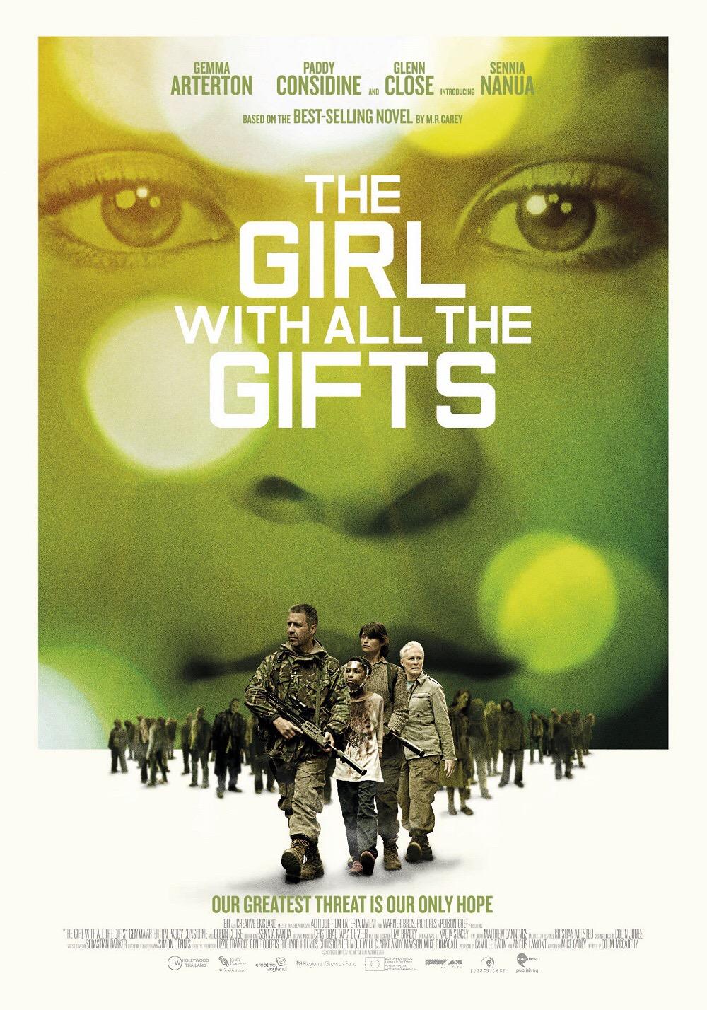 """""""The Girl with All the Gifts เชื้อนรกล้างซอมบี้""""สร้างจากนิยายขายดีของ เอ็ม อาร์.แครี่ย์"""
