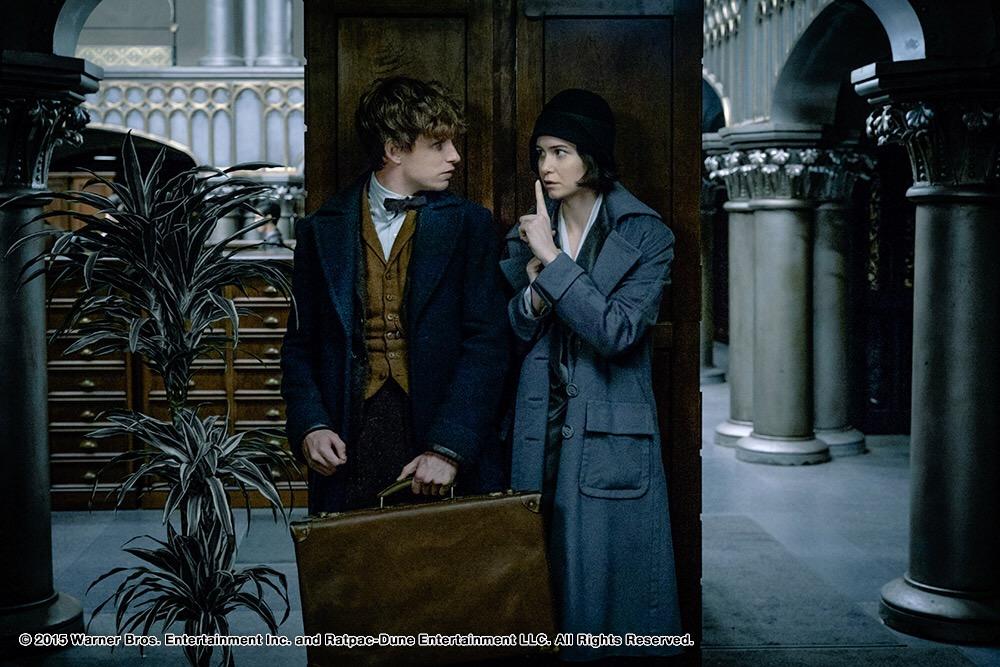 ภาพจากหนังชุดล่าสุด Fantastic Beasts and Where to Find Themพร้อมเข้าฉาย 17 พฤศจิกายนนี้ในโรงภาพยนตร์