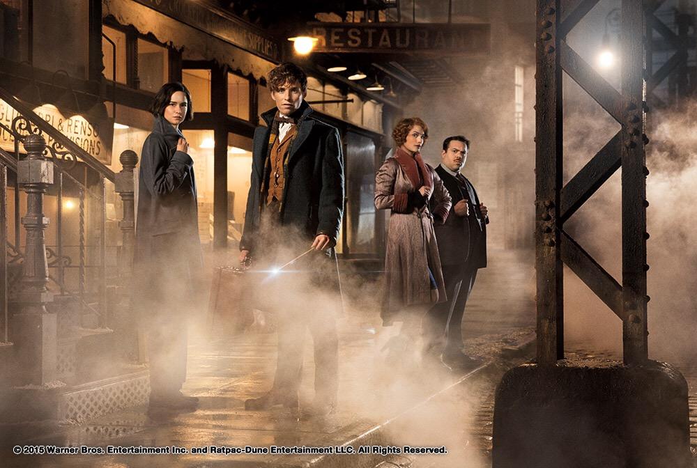 คลิปเบื้องหลังที่เผยความเป็นมาแห่งโลกเวทมนตร์ Fantastic Beasts and Where to Find Them17 พฤศจิกายนนี้ในโรงภาพยนตร์