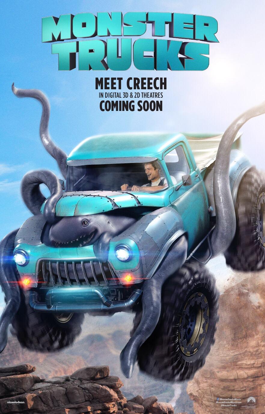 ผจญภัยสุดซิ่งไปกับ Monster Trucks บิ๊กฟุตตะลุยเต็มสปีด กุมภาพันธ์ ปีหน้า