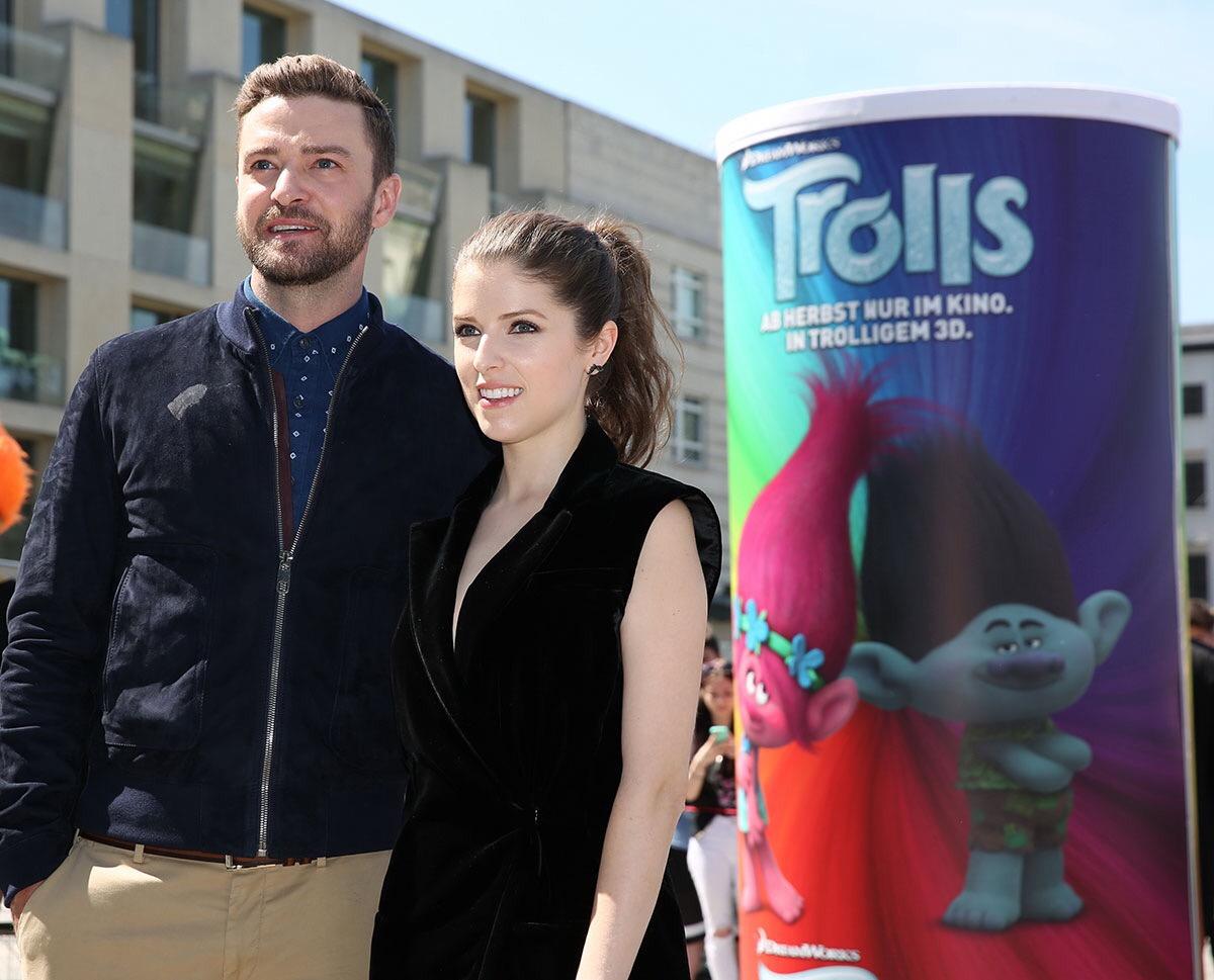 เปิดใจ แอนนา เคนดริก, จัสติน ทิมเบอร์เลค ผู้ให้เสียงในภาพยนตร์ Trolls ฉายแล้ววันนี้ในโรงภาพยนตร์