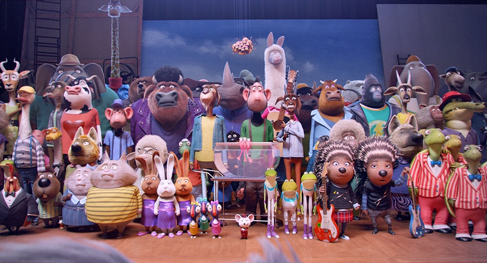 ศิลปินจากเวที The Voice, True Academy Fantasia และ KPN ร่วมงานเปิดตัวภาพยนตร์ Sing ร้องจริง เสียงจริง