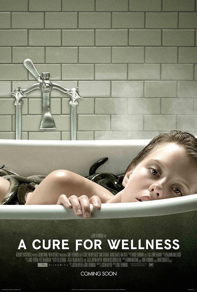 ระทึกไปกับตัวอย่างล่าสุดพร้อมโปสเตอร์มาใหม่ A Cure for Wellness จากผลงานของผู้กำกับ The Ringเข้าฉาย 16 กุมภาพันธ์ 2017 ในโรงภาพยนตร์