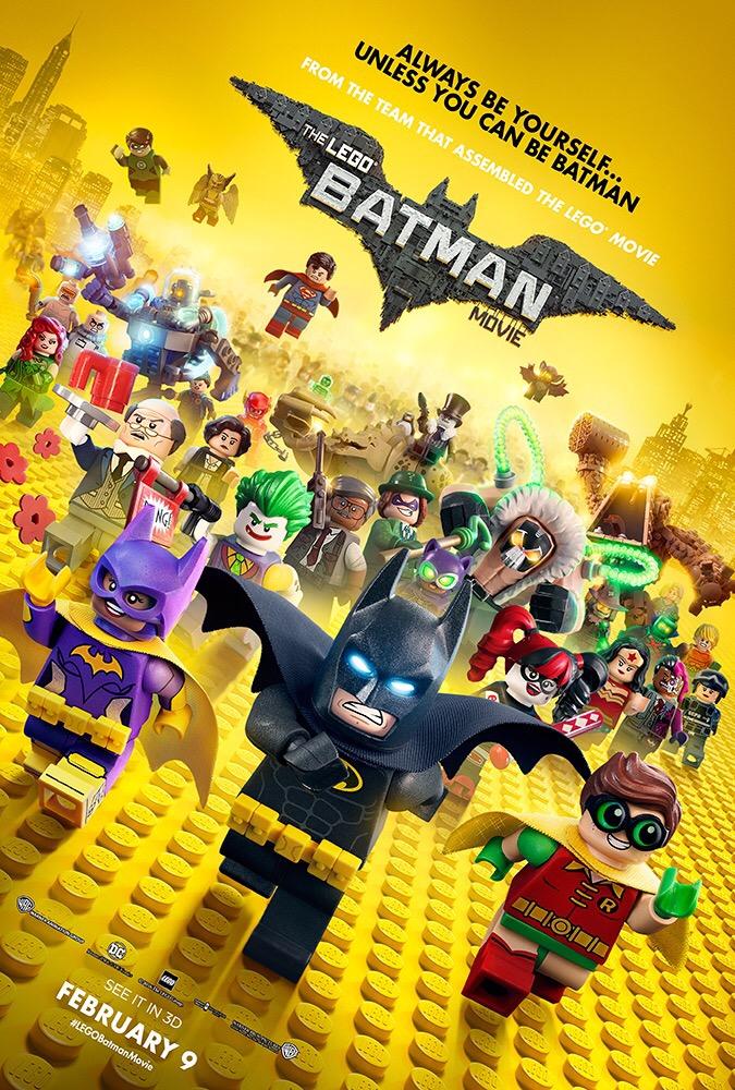 เลโก้ แบทแมน กลับมาแล้วพร้อมผองเพื่อนบนโปสเตอร์ล่าสุด The LEGO Batman Movie พร้อมฉาย 9 กุมภาพันธ์ 2017 ในโรงภาพยนตร์