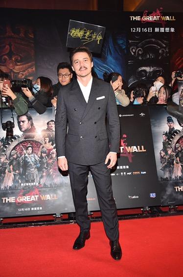 แมตต์ เดม่อน และหลิวเต๋อหัว นำทีมนักแสดง ร่วมงานแถลงข่าวเปิดตัวภาพยนตร์ The Great Wall ที่ปักกิ่ง