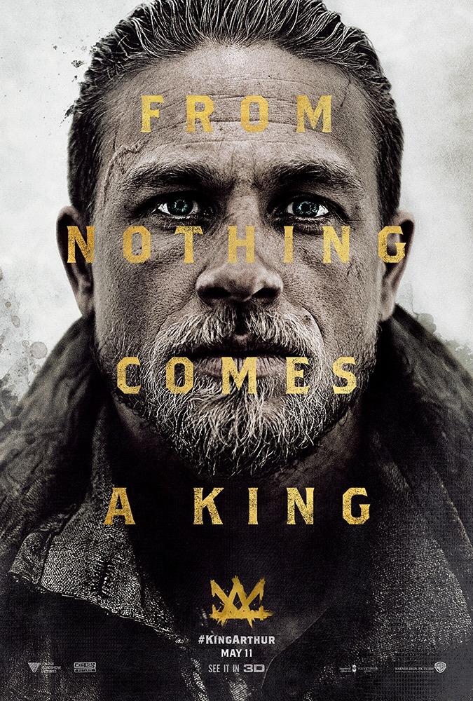 เผยโปสเตอร์มาใหม่ King Arthur: Legend of the Sword พร้อมฉาย 11 พฤษภาคมนี้ในโรงภาพยนตร์