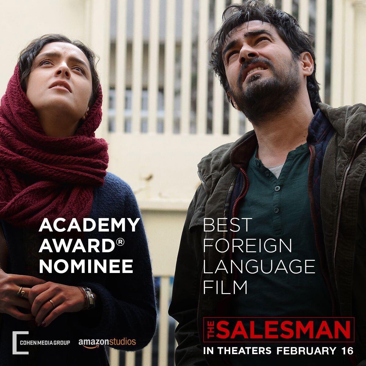"""อัสการ์ ฟาร์ฮาดี - เป็นไปได้ไหมกับ """"ออสการ์"""" ตัวที่ 2การกลับมาพร้อมหนังดราม่าสุดระทึกThe Salesman (เดอะ เซลส์แมน ) เข้าชิงรางวัลออสการ์ สาขาภาพยนตร์ภาษาต่างประเทศยอดเยี่ยมปี 2017"""
