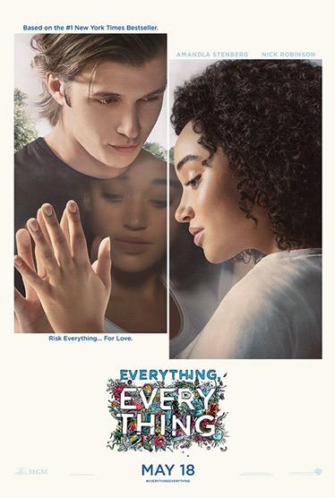 """จะเป็นอย่างไรเมื่อไม่สามารถสัมผัสโลกภายนอกได้?""""Everything, Everything"""" ปล่อยโปสเตอร์มาใหม่ ก่อนฉายจริง 18 พฤษภาคม นี้"""