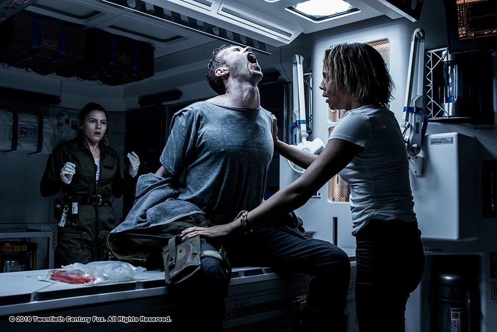 คลิปสุดพิเศษ The Crossing หนังสั้นฉบับทางการของ Alien: Covenant