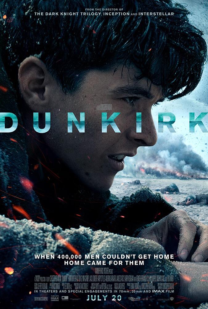 Dunkirk - ดันเคิร์ก ส่งโปสเตอร์หลัก ก่อนฉายจริง 20 กรกฎาคม นี้ ในโรงภาพยนตร์